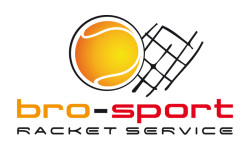 Logo vom bro-sport Racket Service
